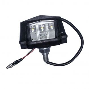 Alloy Number Plate Light