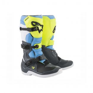 Tech 3 Boots Cool Grey/Fluo Yellow/ Cyan