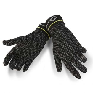 X-Mix Gloves/Undergloves Black/Yellow Fluo