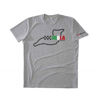 Temples Of Speed T-shirt Imola Grey