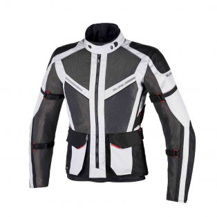 Motorcycle Jacket DISCOVER AIR AQVADRY LADY Ice/Anthracite/Black