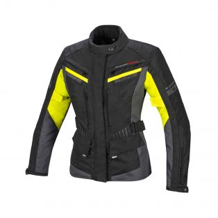 Path Aqvadry CEE Lady Jacket Black/Yellow Fluo/Anthracite