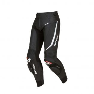 Speed GP Motorcycle Trousers Black/Black/White