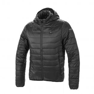 Thermo Fire heated Quilted Jacket Black