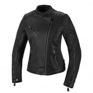 Strand Lady women's leather motorcycle jacket Black