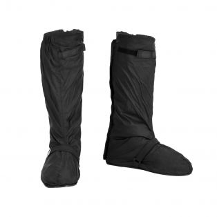 Easy Travel shoe cover with zip and sole Black