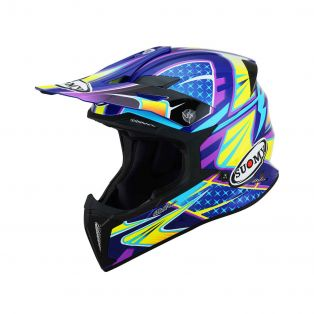 X-Wing offroad helmet Duel Light Blue/Pink