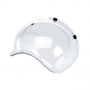 Bubble Universal 3-button visor Transparent