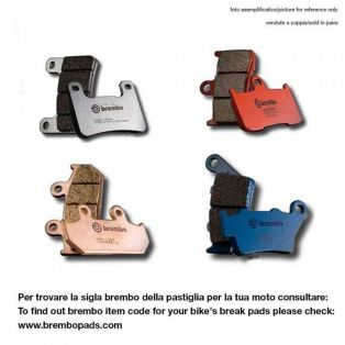 07HD19SR Sintered brake pads for Buell and EBR