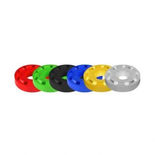 Shock Absorbers Rubber in pairs White