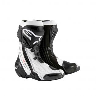 Supertech R Boot Black/White Vented