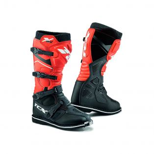 X-Blast offroad Motorcycle Boots Black/Red