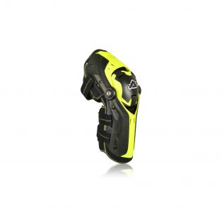 Gorilla Knee Guards Black/Fluo Yellow