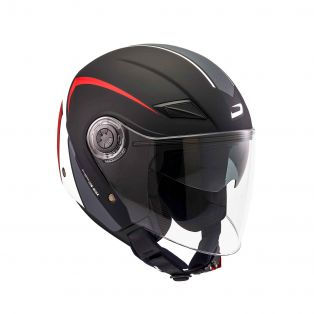 HP3.51 helmet Shape Black/White/Red