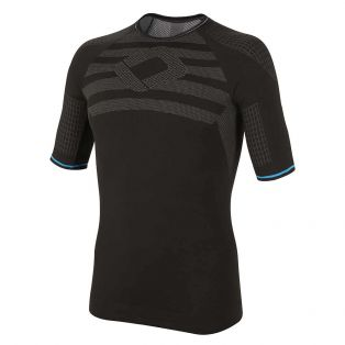 Ultralight Short Sleeve T-Shirt Black/Light-Blue