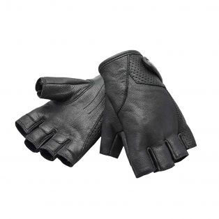Driver Fingerless Gloves Black