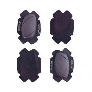 Knee Slider Gp Evo Black/Soft Velcro