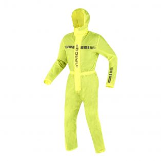 Easy Pocket Rain Suit Yellow Fluo