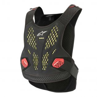 Sequence Chest Protector Anthracite/Red