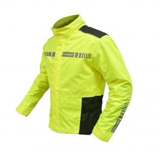 Up Premium Aquadry Jacket Black/Yellow Fluo