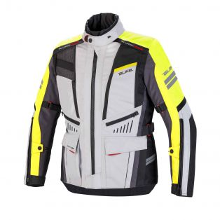 Finder Jacket, Aqvuadry Cee for man Ice/Yellow Fluo/Dark Grey