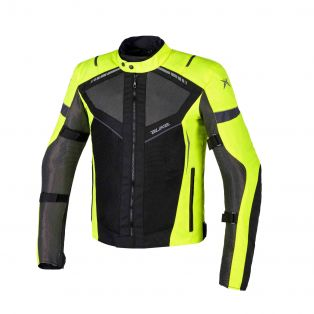 Airtour Aqvadry Motorbike summer jacket Fluoyellow/Black/Anthracite