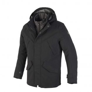 Brera Jacket, Aqvadry Cee for man Matt Black