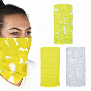 Comfy 3 Pack Bandana Havoc Yellow