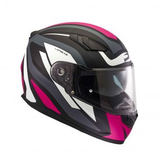 HP 5.41 helmet Fluid Black/White/Fuchsia