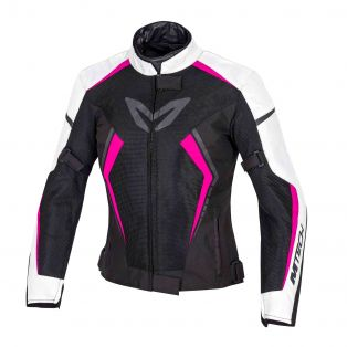 Speed Flow Jacket - Lady fit White/Fuchsia/Black