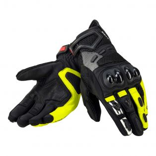 Gear Air Gloves Black/Fluo Yellow/Blac