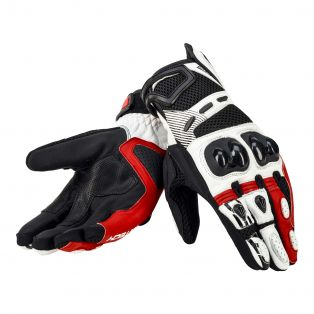 Gear Air Gloves White/Red/Black