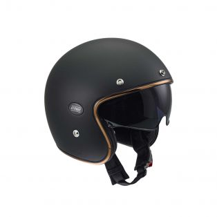 HP4.51 Jet Helmet Matt Black