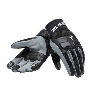 Roke motorcycle gloves Black/Black