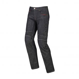 Track motorcycle trousers Black Washed