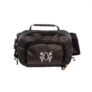 Kangoo 2 motorcycle belt bag - 1.8lt Black